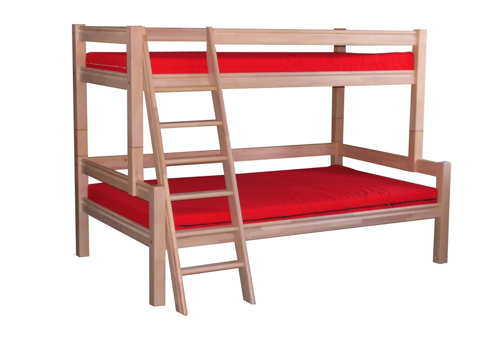 Sale Birch Bunk Bed Ganda 3st 90 120x200 Natural
