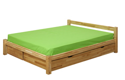 Birch bed Lina
