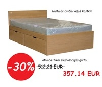 SALE!!! Oak (veneered) bed Raina