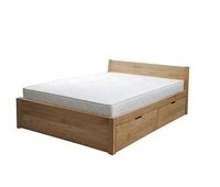 Oak bed Alise