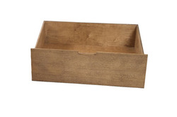 Oak bedclothes box Alise