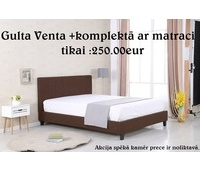 Bed Venta + mattress Tango MM 160x200